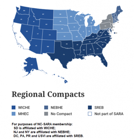 Regional Compacts Map